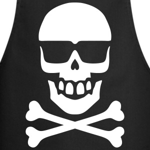 Sunglass Skull  Aprons - Cooking Apron
