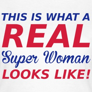 Real Woman T-shirts - Dame-T-shirt