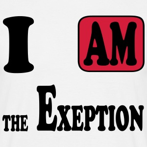 I am the Exeption Tee shirts - T-shirt Homme
