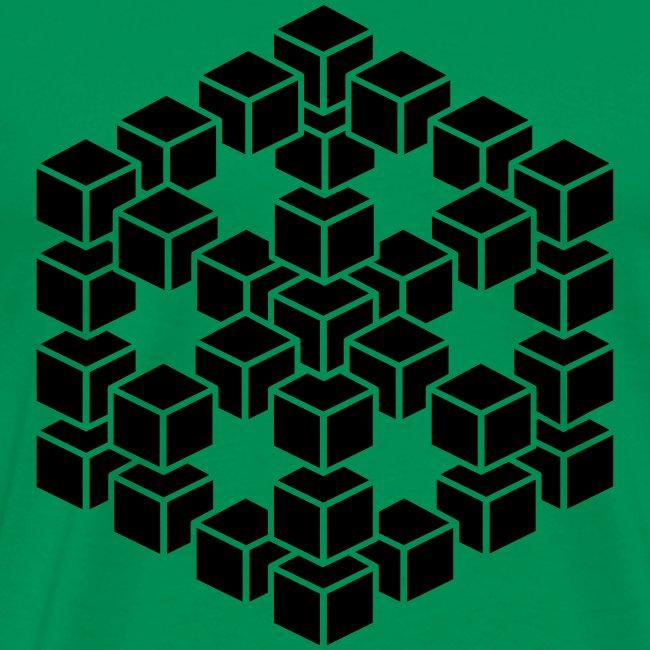 3D kubus shirt