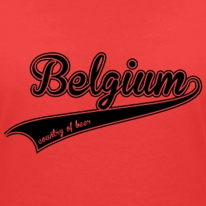 belgium country of beer Tee shirts - T-shirt col V Femme