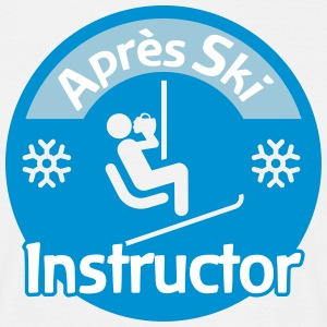 Après-Ski Instructor T-Shirts - Men's T-Shirt