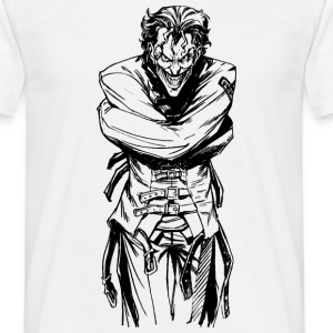 Joker fanget T-skjorte for menn - T-skjorte for menn