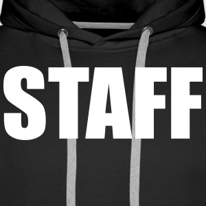 Staff Sweat-shirts - Sweat-shirt à capuche Premium pour hommes