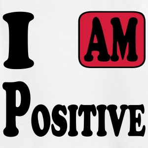 I am Positive Tee shirts - T-shirt Ado