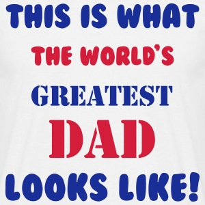 Greatest Dad T-shirts - T-shirt herr