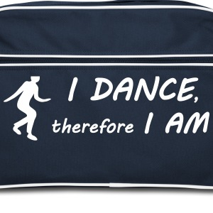 I dance I am Bags & Backpacks - Retro Bag