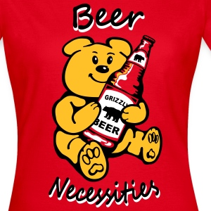 Beer necessities Bear necessities T-Shirts - Women's T-Shirt