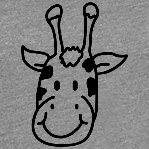 Sweet cute little giraffes child face T-Shirts - Women's Premium T-Shirt