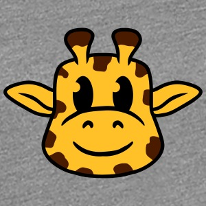 Sweet cute little giraffe baby child face T-Shirts - Women's Premium T-Shirt