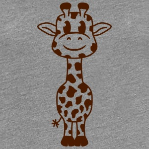 Sweet cute little giraffe baby child T-Shirts - Women's Premium T-Shirt