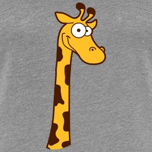 Lustige Komische Cartoon Comic Giraffe Design T-Shirts - Frauen Premium T-Shirt