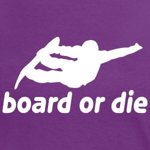 board or die Tee shirts - T-shirt contraste Femme
