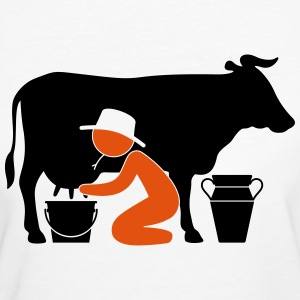 Farmer (2c)++2014 T-Shirts - Frauen Bio-T-Shirt