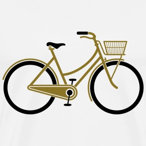 Bicycle (2c)++2014 T-shirts - Herre premium T-shirt