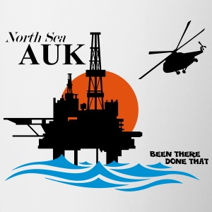 Auk North Sea Oil Rig Platform - Mug