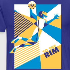 T-Shirt To The Rim Golden State - T-shirt Premium Homme
