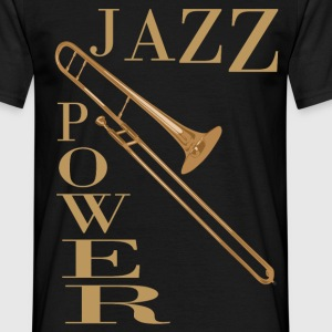jazz power 02 Tee shirts - T-shirt Homme