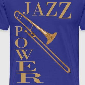 jazz power 02 T-Shirts - Men's Premium T-Shirt