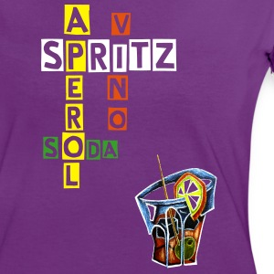 Spritz Aperol Recipe - Art & Design - Women's Ringer T-Shirt