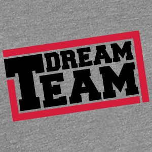 Text logo design friends couple couples dream team T-Shirts - Women's Premium T-Shirt