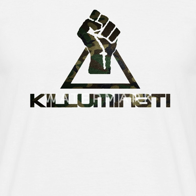 Killuminati Camouflage Optik  - Männer T-Shirt