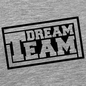 Text logo design friends couple couples dream team T-Shirts - Men's Premium T-Shirt