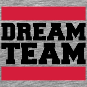 Text design logo couple dream team logo T-Shirts - Men's Premium T-Shirt
