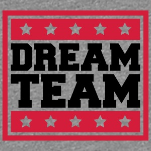 Tekst vak Sterne Logo Design Paar Dream Team T-shirts - Vrouwen Premium T-shirt
