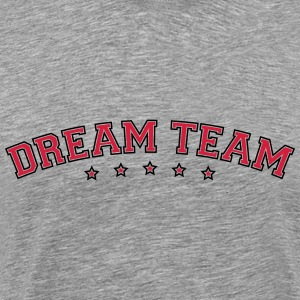 Text arch design vänner par par dream-team T-shirts - Premium-T-shirt herr