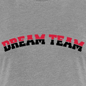 Text arch design friends couple couples dream team T-Shirts - Women's Premium T-Shirt