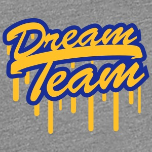 Stempel Graffiti Logo Design Dream Team Freunde Pa T-Shirts - Frauen Premium T-Shirt