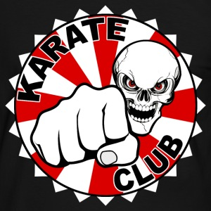 karate club skull Tee shirts - T-shirt contraste Homme