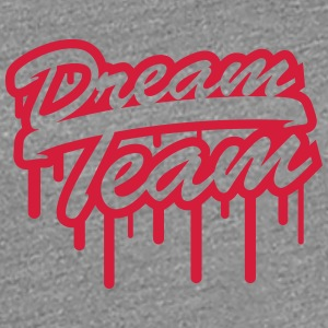 Stamp Graffiti Logo Design Dream Team Freunde Few T-Shirts - Women's Premium T-Shirt