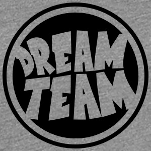 Circle round logo stamp graffiti dream team's frie T-Shirts - Women's Premium T-Shirt