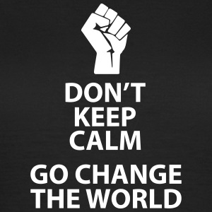 change the world Tee shirts - T-shirt Femme