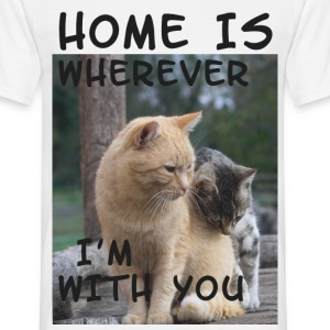 Home is where I´m with you - bananaharvest T-Shirts - Men's T-Shirt