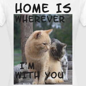 home T-Shirts - Frauen T-Shirt