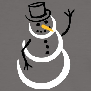 snowman (color) T-Shirts - Men's Ringer Shirt