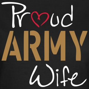 Army Wife T-shirts - Dame-T-shirt
