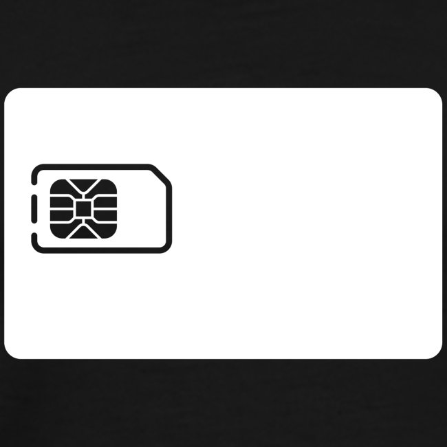 SIM card tee shirt
