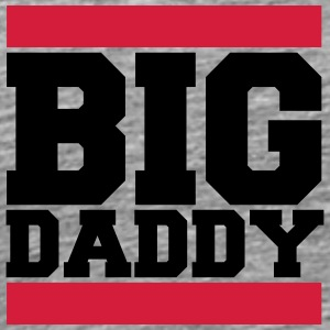 Logo Big Daddy father's day hero dad Vater T-Shirts - Men's Premium T-Shirt