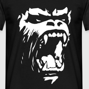 Gorilla roar T-Shirts - Men's T-Shirt