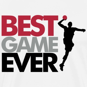 Best game ever - handball Tee shirts - T-shirt Premium Homme