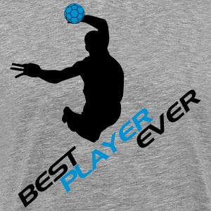Best player ever - handball T-shirts - Herre premium T-shirt