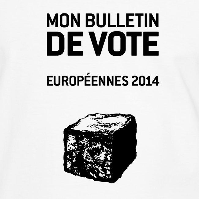 T-SHIRT contraste homme européennes 2014