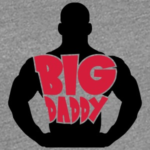Big Daddy dad father hero father's day strong musc T-Shirts - Women's Premium T-Shirt