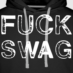 Fuck Swag Sweaters - Mannen Premium hoodie