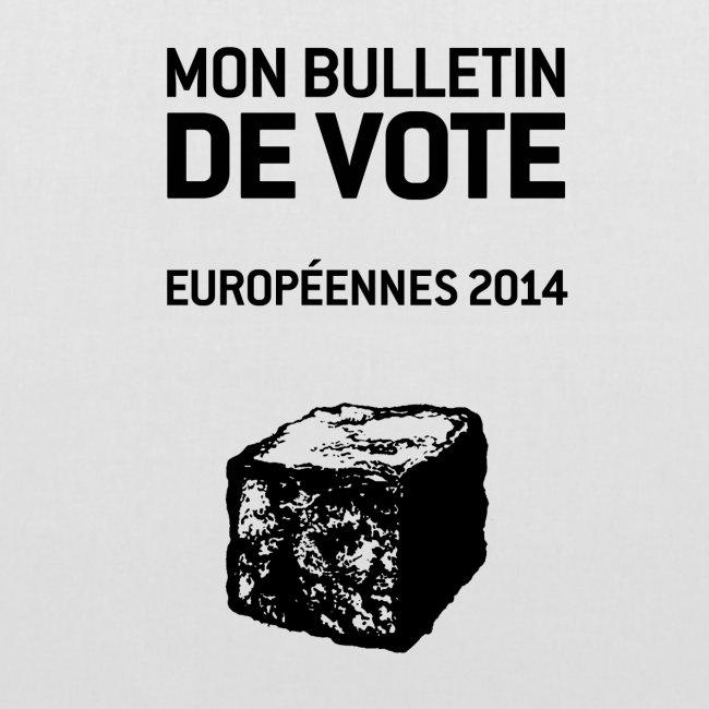 SAC en tissu européennes 2014