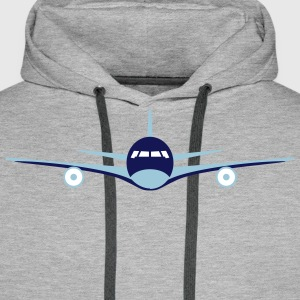 Avion Sweat-shirts - Sweat-shirt à capuche Premium pour hommes
